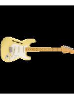 Eric Johnson Thinline Stratocaster®, Maple Fingerboard, Vintage White