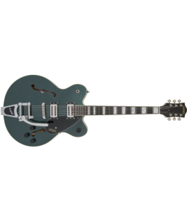 G2622T Streamliner™ Center Block with Bigsby®, Laurel Fingerboard, Broad'Tron™ BT-2S Pickups, Gunmetal