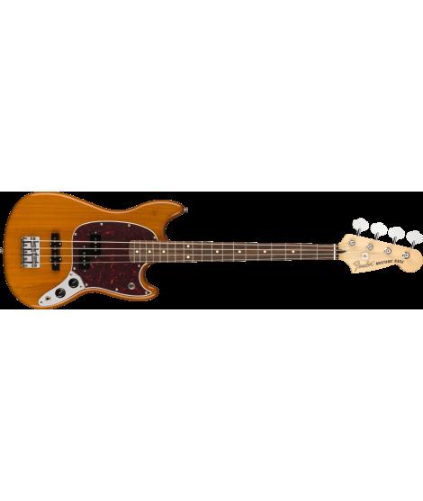 Player Mustang® Bass PJ, Pau Ferro, Aged Natural