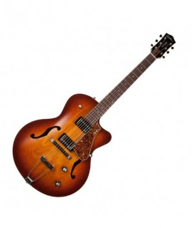 5th Avenue CW Kingpin II Cognac Burst avec tric