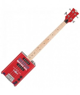 Bohemian Oil Can Bass Guitar - Motor Oil