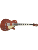 G6228FM Players Edition Jet™ BT with V-Stoptail and Flame Maple, Ebony Fingerboard, Bourbon Stain