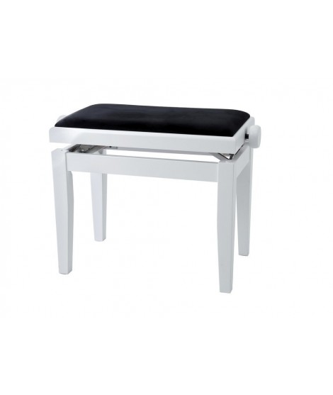Banquette Piano Deluxe Blanc Mat