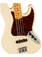 American Professional II Jazz Bass®, Maple Fingerboard, Olympic White