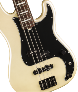 Duff McKagan Deluxe Precision Bass, Rosewood Fingerboard, White Pearl